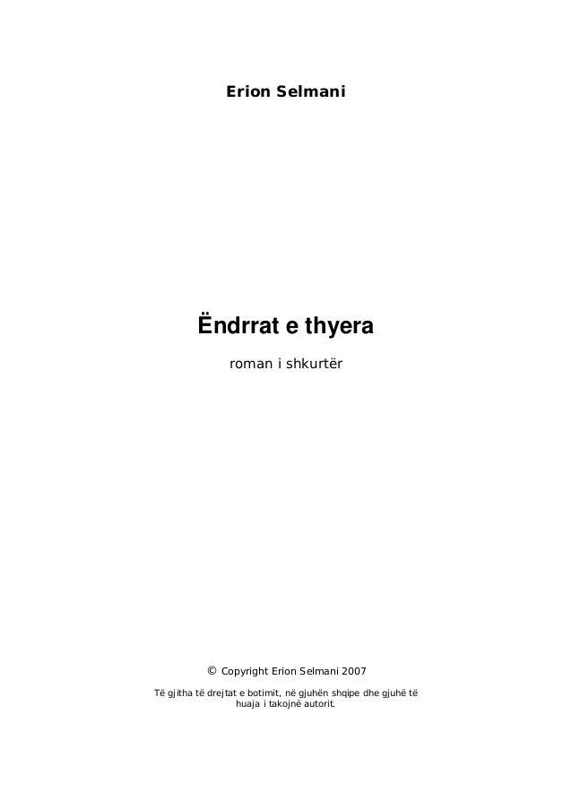 Erion Selmani   ``Endrrat E Thyera`` Slide 2