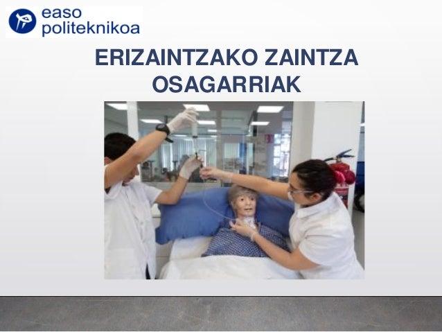 ERIZAINTZAKO ZAINTZA OSAGARRIAK