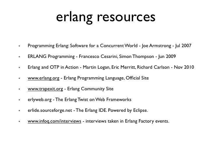 Erlang vs java 4 erlang resources programming fandeluxe Gallery