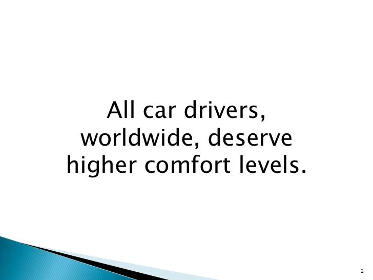 erl comfort score objectively measures driver experience