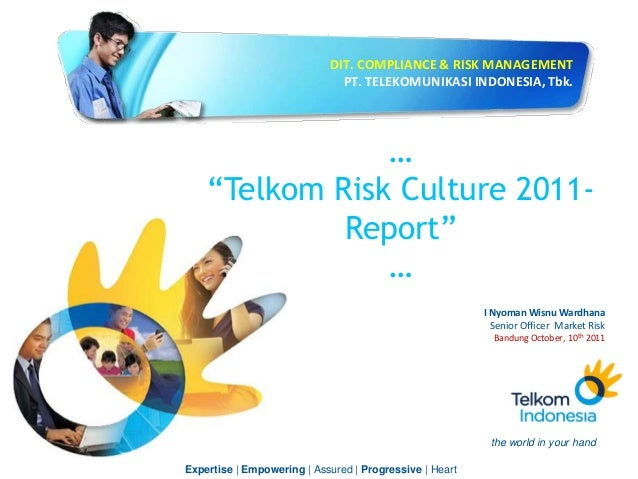 Erm telkom indonesia risk culture measurement and result 2011