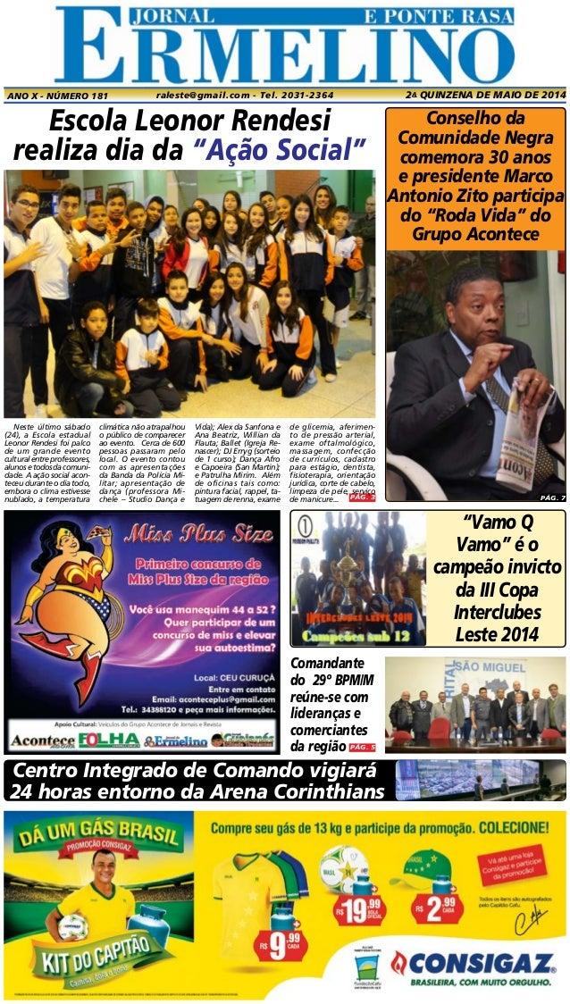 """PÁG. 3 Conselho da Comunidade Negra comemora 30 anos e presidente Marco Antonio Zito participa do """"Roda Vida"""" do Grupo Aco..."""