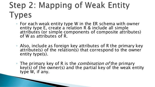 ◦ For each regular binary 1:N relationship type R, identify the relation S that represent the participating entity type at...