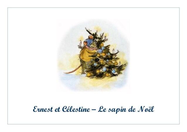 Ernest et Célestine – Le sapin de Noël