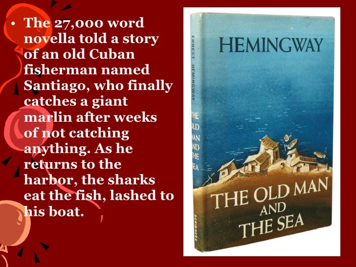 the journey in the old man and the sea by ernest hemingway This item:old man and the sea by ernest hemingway hardcover cdn$  he  ties it alongside the hull of his tiny boat, and then commences the long journey.