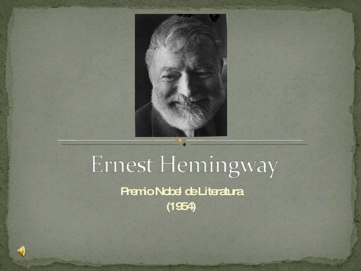 Premio Nobel de Literatura (1954)