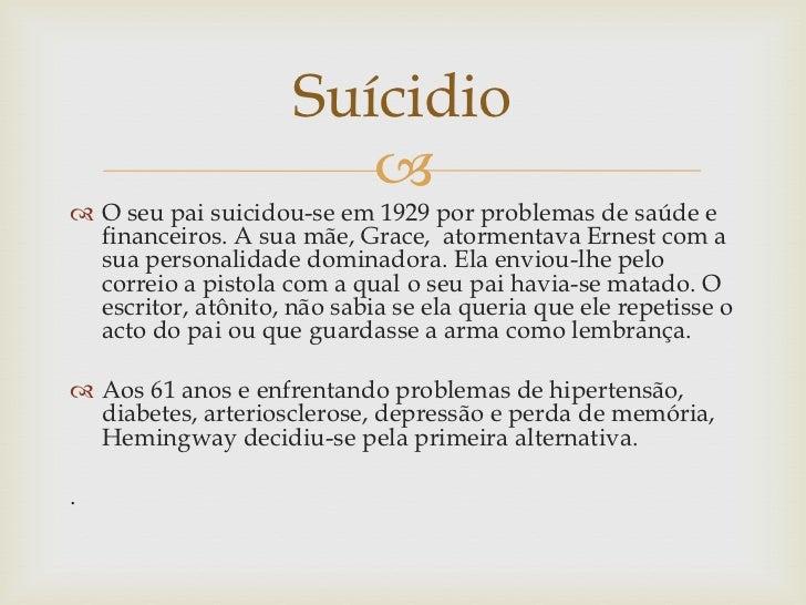 Suícidio                         O seu pai suicidou-se em 1929 por problemas de saúde e  financeiros. A sua mãe, Grace, ...