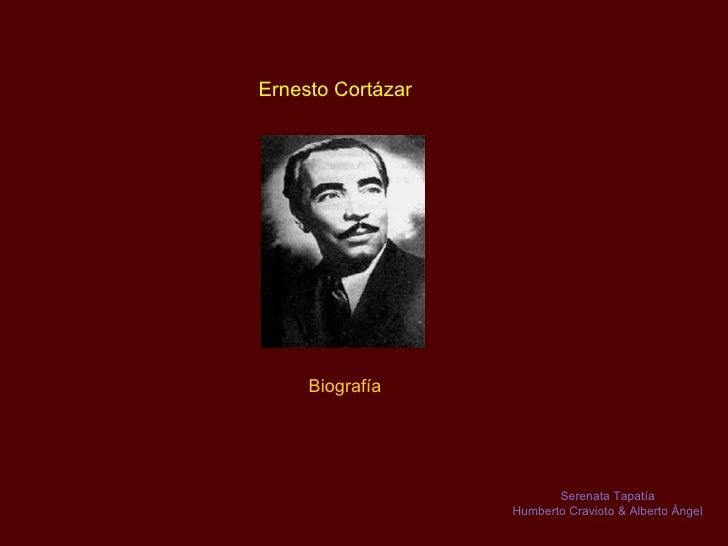 Ernesto Cortázar   Biografía  Serenata Tapatía Humberto Cravioto & Alberto Ángel
