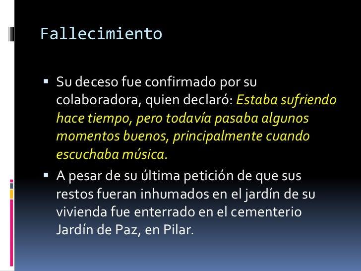 Ernesto sabato for Cementerio jardin de paz buenos aires