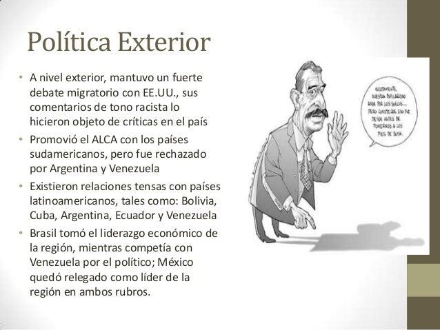 Ernesto zedillo ponce de le n 1 for Gobierno exterior
