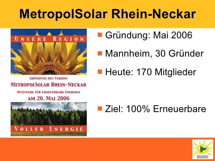 Erneuerbare Energien und Regionale Wertschöpfung Slide 2