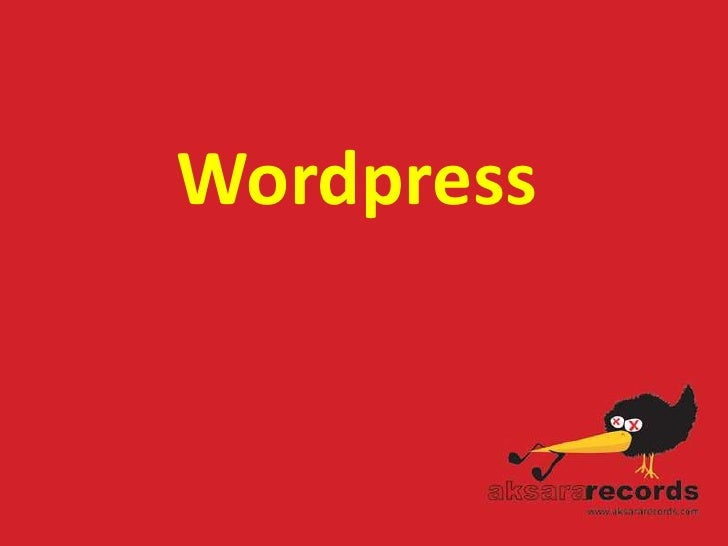 Wordpress<br />