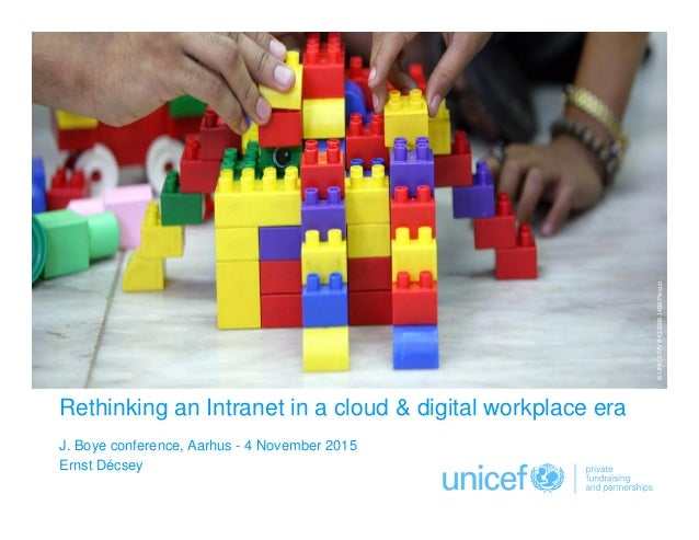 Click to edit Master subtitle style Rethinking an Intranet in a cloud & digital workplace era J. Boye conference, Aarhus -...