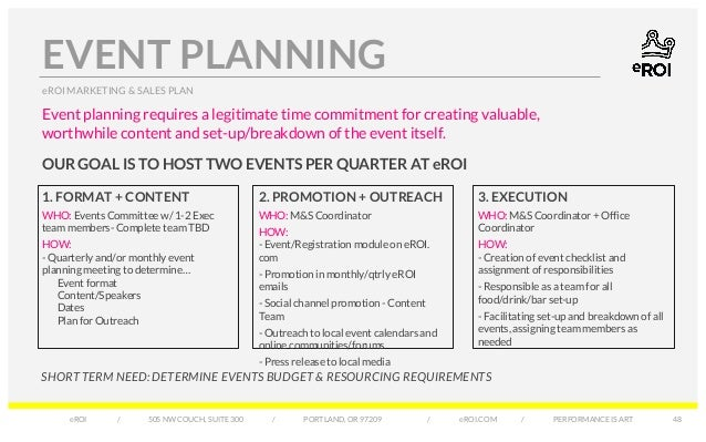 event promotion business plan template