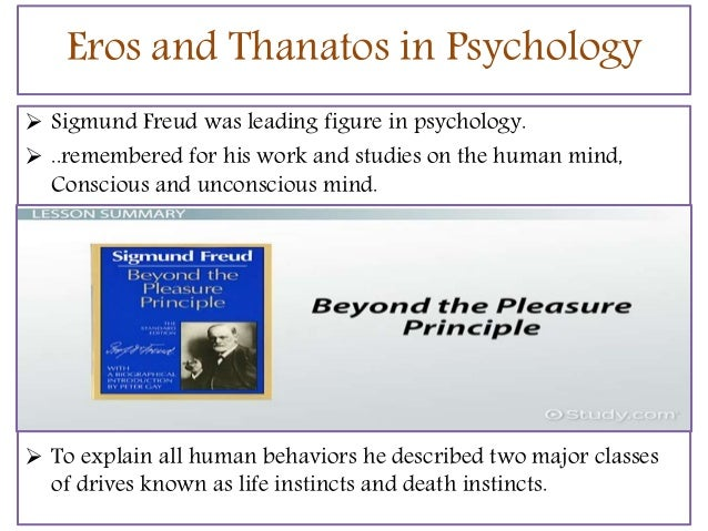 thanatos psychology