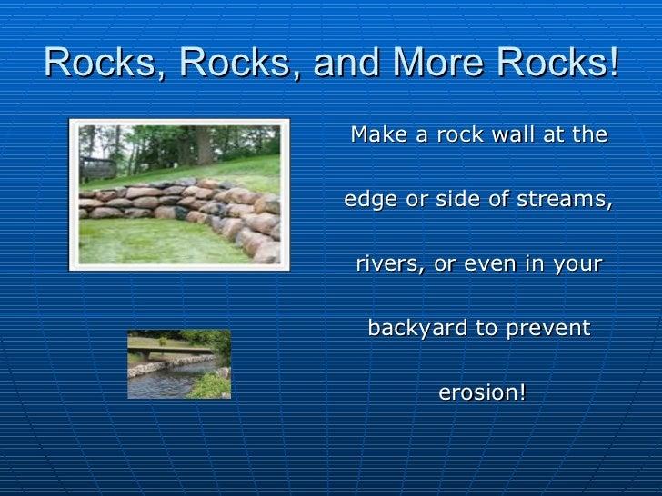3 types of erosion