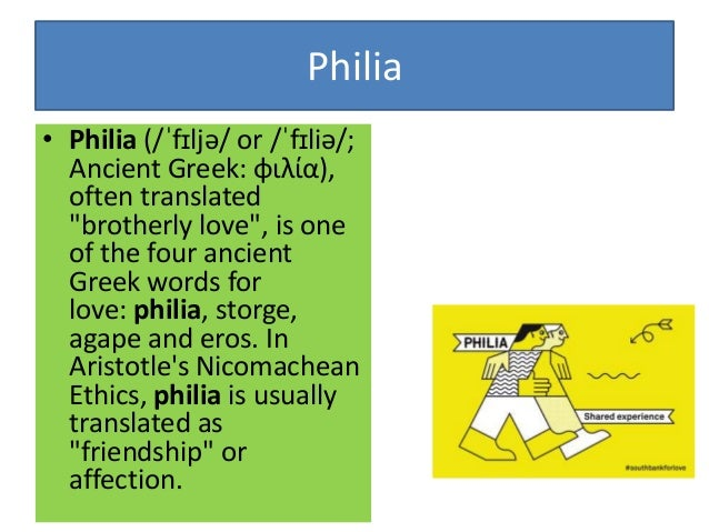 """discuss aristotle's friendship philia Agró has answered your question very nicely i fail to see how empedocles' theory of """"love and strife"""" as mentioned in xii,6 has any bearing on aristotle's theory of the """"unmoved mover"""" elucidated much later in the text."""