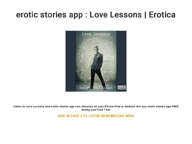 Ipad erotic stories
