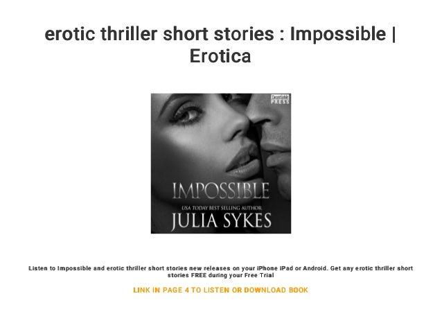 Erotic thriller stories