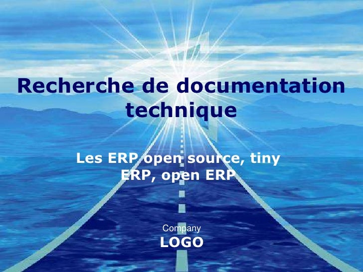 Recherche de documentation technique<br />Les ERP open source, tiny ERP, open ERP<br />