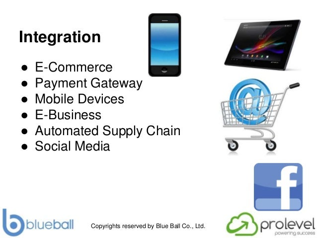 Copyrights reserved by Blue Ball Co., Ltd. Integration ● E-Commerce ● Payment Gateway ● Mobile Devices ● E-Business ● Auto...