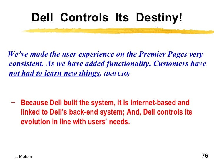 dell erp implementation The purpose of this paper is to present a case study of a successful erp implementation design/methodology/approach - in this paper.