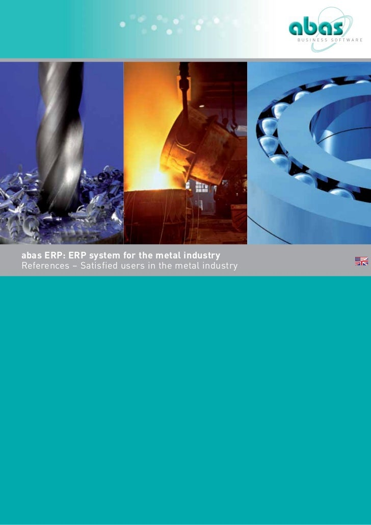 abas ERP: ERP system for the metal industryReferences – Satisfied users in the metal industry
