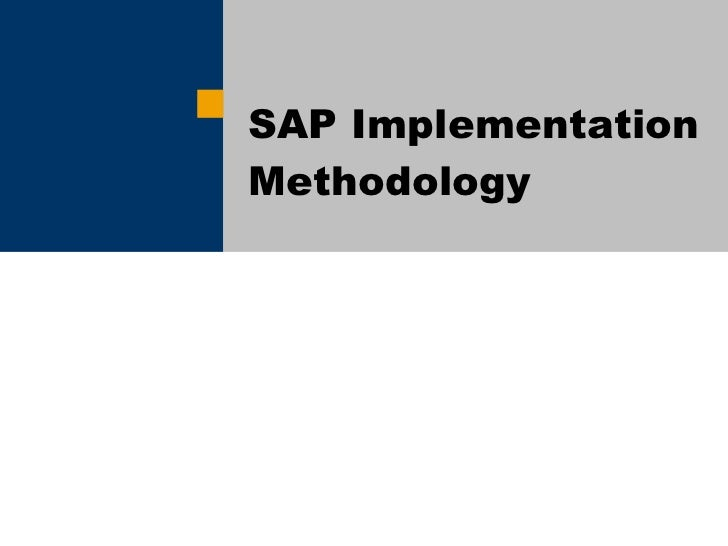 Erp implementation approach thesis
