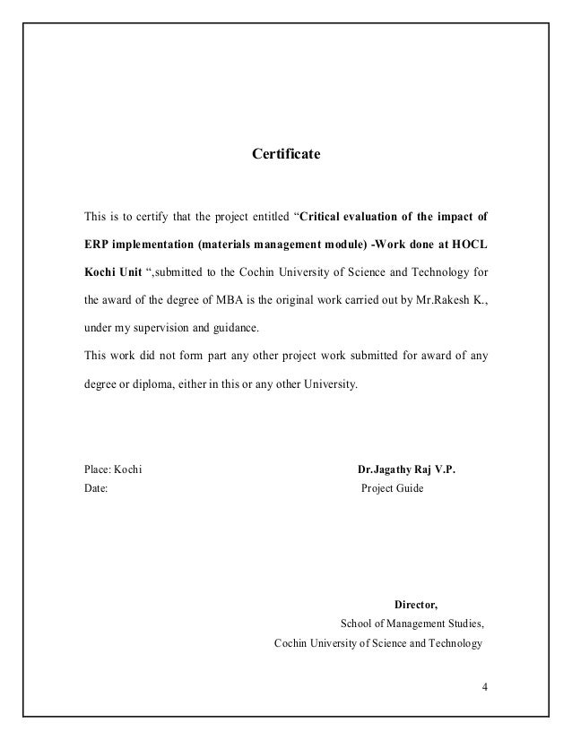 Critical evaluation of the impact of erp 3 4 4 certificate yadclub Choice Image