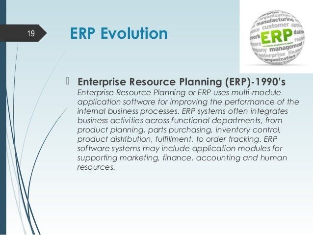 Enterprise Resource Planning Best Ppt