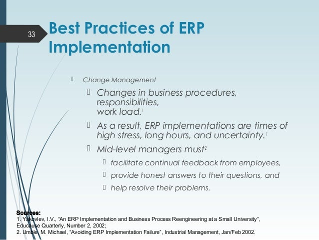 enterprise resource planning erp failure Aptean, a global leader in enterprise application enterprise resource planning, enterprise there's no shortage of news stories about erp failures.