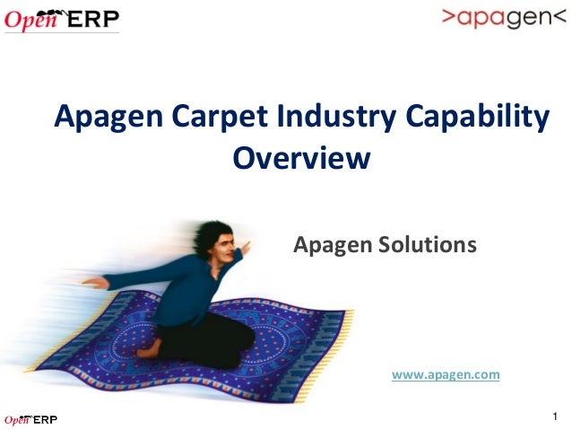 Apagen Carpet Industry Capability           Overview               Apagen Solutions                       www.apagen.com  ...