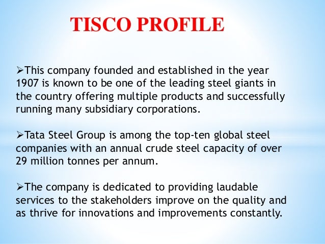 Erp Case Study On Tata Steel
