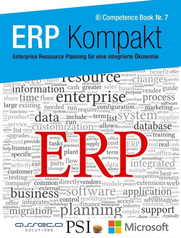 Competence Book Nr. 7  ERP Kompakt  Enterprise Ressource Planning für eine integrierte Ökonomie