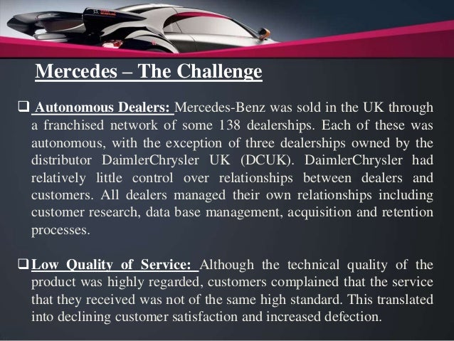 mercedes benz case study pdf