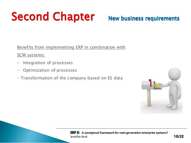 erp ii the next generation erp11 April 2, 2004 erp applications market maturity, consolidation, and the next generation by paul hamerman and byron miller with erin kinikin and liz herbert.