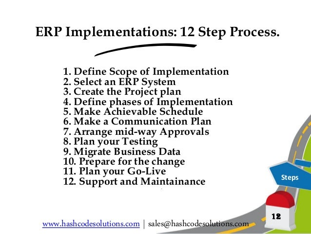 Erp Implementation Your 12 Step Implementation Stratergy