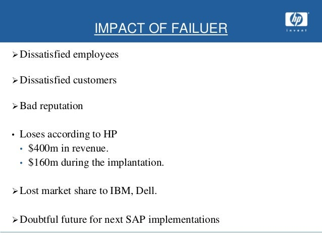 dell erp implementation In addition, dell computer scrapped their erp system claiming that it was not flexible enough to handle their expanding global operations in seeking to explain why some firms succeed in their implementation while.