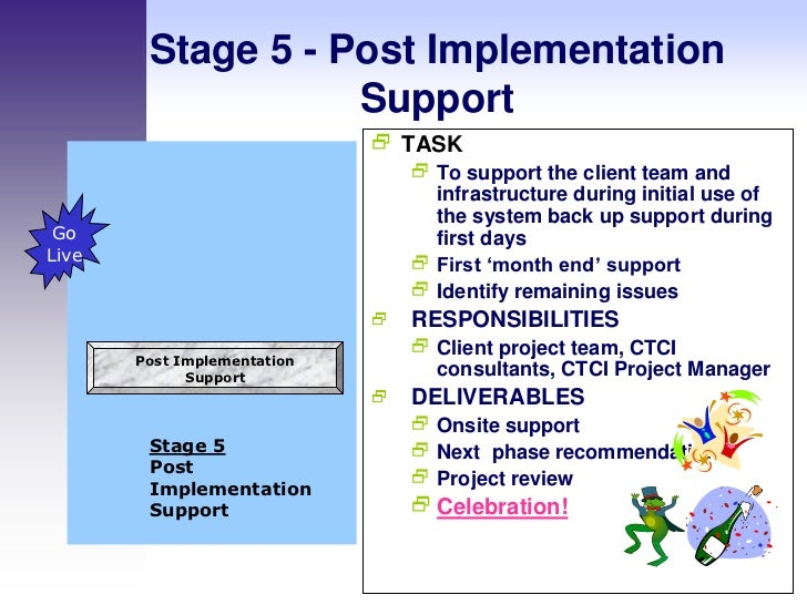 how to develop a project implementation plan