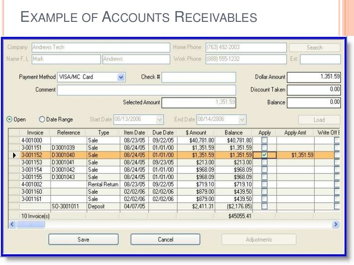Erp Module Finance