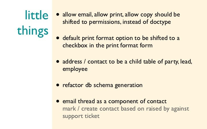 little shifted to permissions, instead of doctype        • allow email, allow print, allow copy should bethings           ...