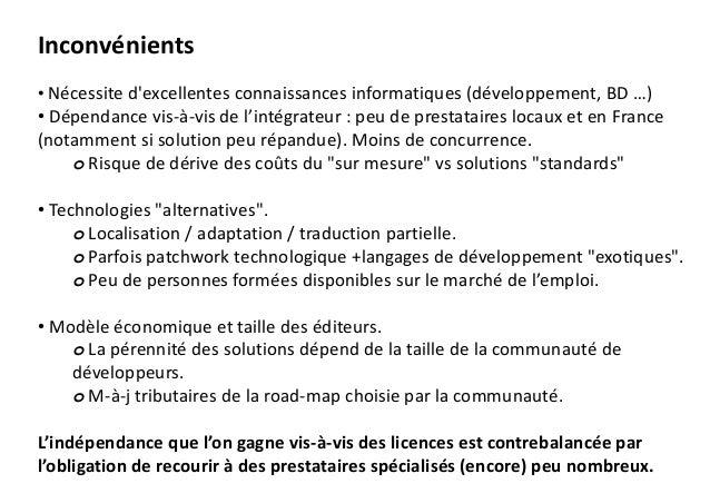 Quelques solutions ERP Open Source et prestataires en Aquitaine Slide 3
