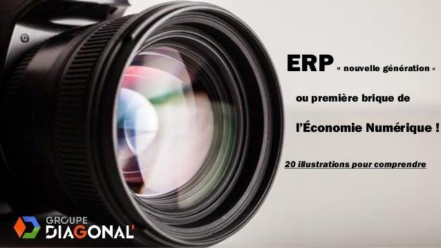ou première brique de 20 illustrations pour comprendre ERP« nouvelle génération » l'Économie Numérique !