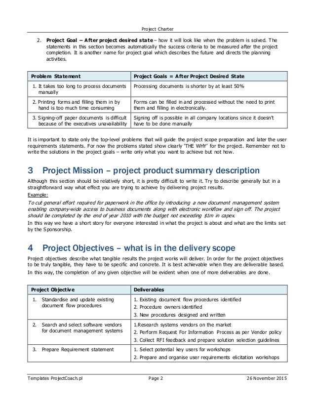 ErpSap Project Charter