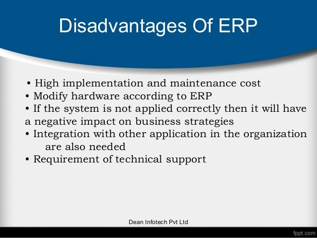 disadvantages of e scm Find information on the disadvantages,  scm executive guide:  high cost of these systems is one of the major disadvantages of erp software.