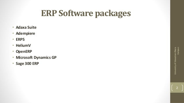 Adempiere 3.4 Erp Solutions Download