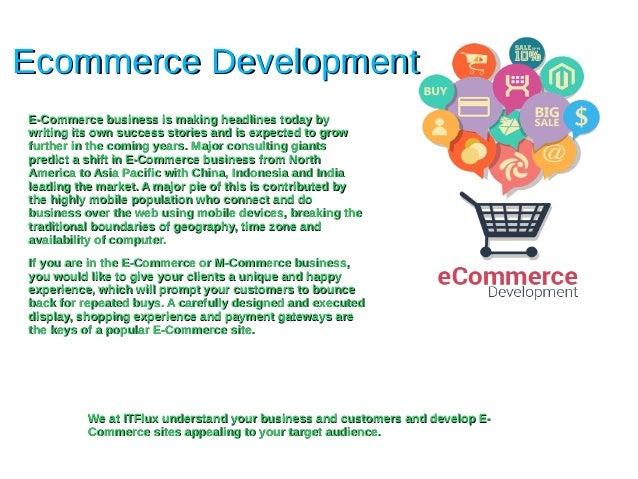 Ecommerce DevelopmentEcommerce Development E-Commerce business is making headlines today byE-Commerce business is making h...
