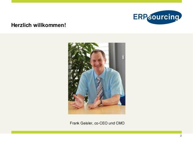 ERPsourcing SAP HANA Showcase Event Balsberg 2016-04-07 Slide 2