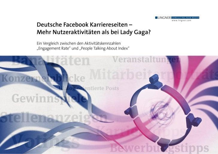 Deutsche Facebook-Karriereseiten – Mehr Nutzeraktivitäten als bei Lady Gaga?