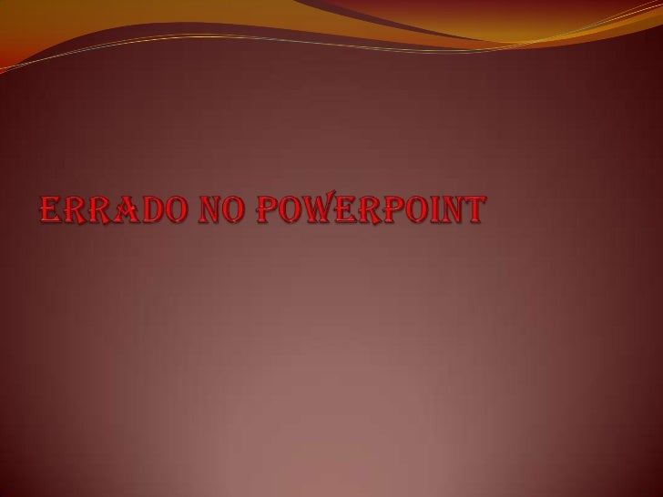 Erradono PowerPoint<br />